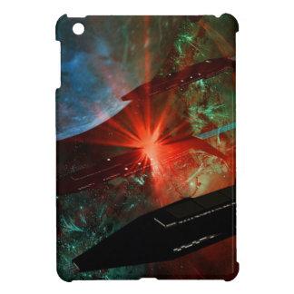 Raum-Schiffs-Zug iPad Mini Hüllen