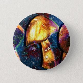 Raum Shroomery Runder Button 5,1 Cm