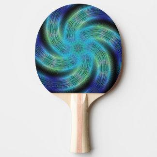 Raum-Spirale Tischtennis Schläger