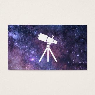 Raum | Stern (Teleskop III) Visitenkarte