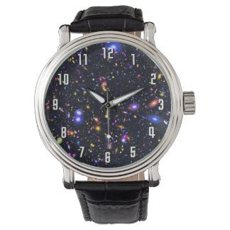 Raum-Teleskop-Simulation James Webb - Pop-Kunst Armbanduhr