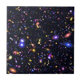 Raum-Teleskop-Simulation James Webb - Pop-Kunst Fliese