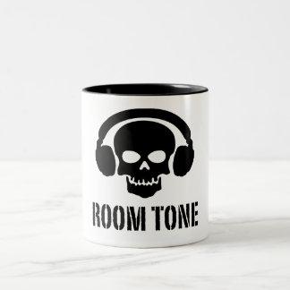Raum-Ton-Schädel - Tasse für solide Mischer