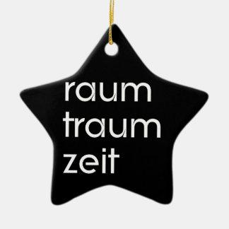 Raum Traum Zeit Keramik Stern-Ornament