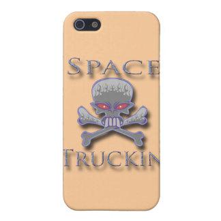 Raum Truckin blau iPhone 5 Hüllen