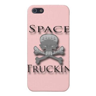Raum Truckin Schwarzes iPhone 5 Etuis
