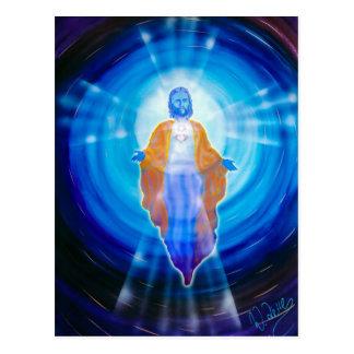 Raum und Zeit Jesus Postkarte
