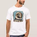 Raumaffe   Gorila espacial Raum-Affe Brandwunde de T-Shirt