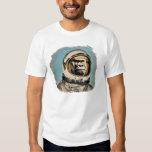 Raumaffe   Gorila espacial Raum-Affe Brandwunde de Tshirts