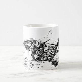 Raumbergbau Kaffeetasse