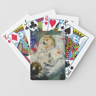 Raumdoge-Poker-Karten Pokerkarten