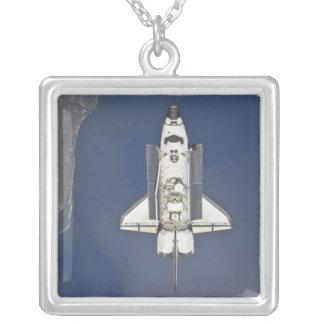 Raumfähre Atlantis 5 Versilberte Kette