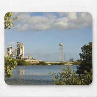 Raumfähre Atlantis und Bemühung Mousepad