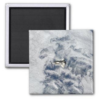 Raumfähre-Bemühung 11 Quadratischer Magnet