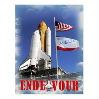 Raumfähre-Bemühung, Kennedy Space Center Postkarte