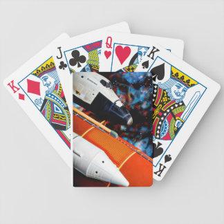 Raumfähre Bicycle Spielkarten