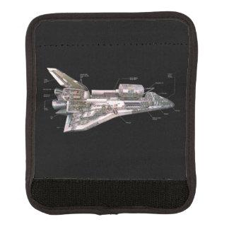 Raumfähre-Cutaway Gepäck Markierung