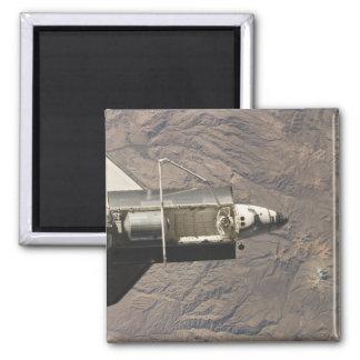 Raumfähre-Entdeckung 4 Quadratischer Magnet