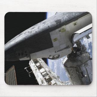 Raumfähre-Entdeckung angekoppelt Mauspad