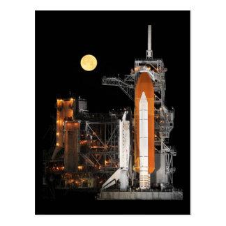 Raumfähre-Entdeckung Postkarte
