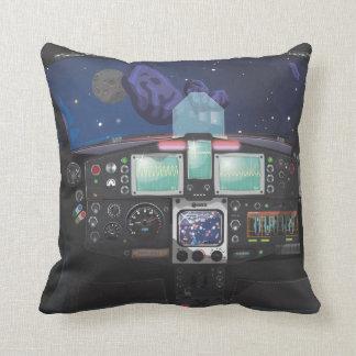 Raumfahrzeug-Konsole Kissen