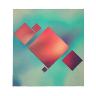 Rauminhalt berechnet im Surrealismus Notizblock