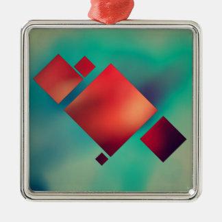Rauminhalt berechnet im Surrealismus Silbernes Ornament
