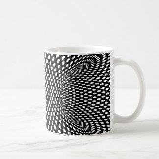 Räumlicher geometrischer Entwurf der optischen Kaffeetasse