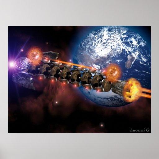 Raumschiff 2 plakat