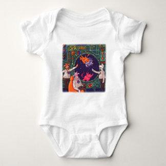 Raumschiff-Kuh Baby Strampler