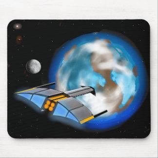 Raumschiff Mousepad