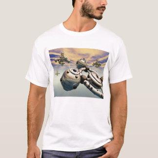 Raumschiffe in der Erdatmosphäre T-Shirt