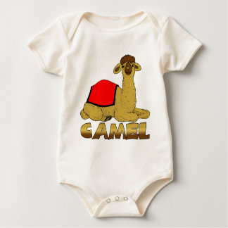 Raupe/Babygrow das Kamel des Babys Strampler