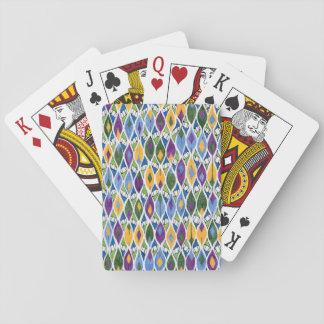 Rauteverschluß Knospen Spielkarte