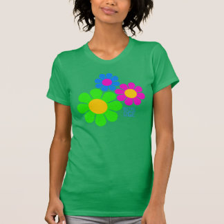 Rave-Alters-Blumen T-Shirt