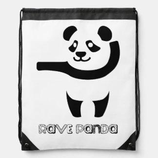 Rave-Panda-Rucksack Sportbeutel