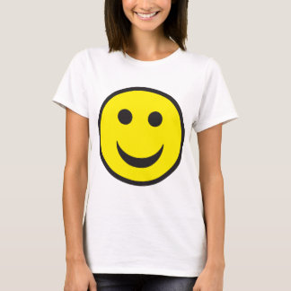 Rave-saurer Haus-smiley T-Shirt