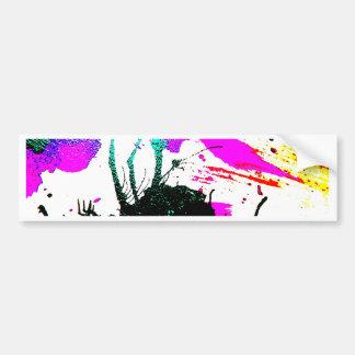 RaveneonParty abstrakt Autoaufkleber
