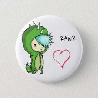Rawr bedeutet Liebe Runder Button 5,1 Cm