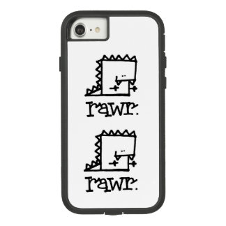Rawr Dinosaurier Meepple Apple iPhone 7 Case-Mate Tough Extreme iPhone 8/7 Hülle