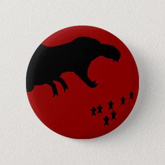 Rawr! T-Rex Runder Button 5,7 Cm
