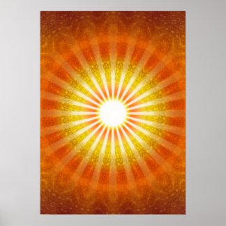 Rays of Hope, Lichtblick, Strahlen, Sonne Poster