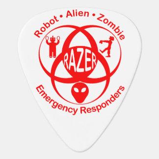 RAZER: Roboter, alien, Zombie Emergerncy Plektron