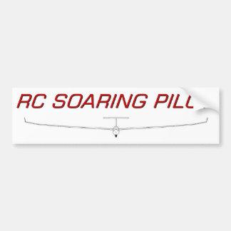 RC hochfliegender Pilot Auto Sticker