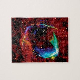 RCW 86 Supernova-Rest - Raum-Foto der NASAs Hubble Puzzle