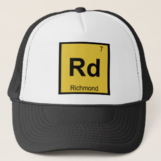 Rd - Chemie-Periodensystem Richmonds Virginia Truckerkappe