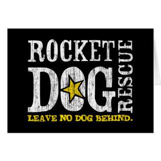 """RDR """"verlassen keinen Hund hinten. """" Karte"""