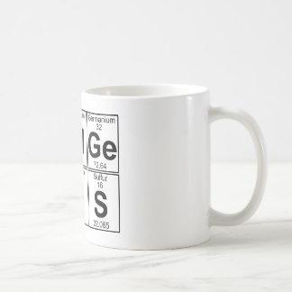 Re--Al-GE-Ni-U-s (wirkliches Genie) - voll Kaffeetasse