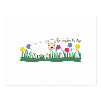 Reachy für Frühling! Postkarten