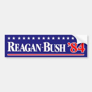 Reagan Bush 84 Autoaufkleber